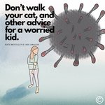 [eBook] Free PDF eBook 'Don't Walk Your Cat, and Other Advice for a Worried Kid' @ Little Mumma's Creations