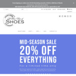 20% off Store Wide (Free Shipping for Orders over £300) at A Fine Pair of Shoes