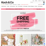 Free Shipping On Orders Over $50 @ Koch & Co