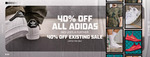 40% off Adidas (Full Priced & Sales Items) @ Footlocker (+ Delivery or Free Shipping >$150)