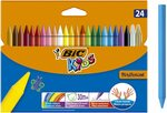 50% off BIC Kids No Mess Colouring Crayons, 24 pack $3.76 + Delivery ($0 with Prime/ $39 Spend) @ Amazon AU