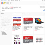 BOGOF - SanDisk Ultra 128GB MicroSD $43.98 | Samsung EVO+ 32GB $19.99 | SanDisk Extreme SDHC 32GB $24.99 Del @ FFT eBay