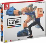 [Switch] Nintendo Labo Robot Kit $29, Vehicle Kit $29 + Delivery ($0 with Prime / $39 Spend) @ Amazon AU