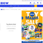 BIG W Toy Mania Sale: Barbie from $10, Buzz $17.5, Nerf Elite $49, Tiny Pong $5, Book PlaySets $10, LEGO from $7, Bikes from $69