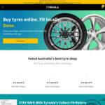 15% off Tyres Deal @ Tyroola