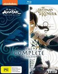 Avatar: The Last Airbender & The Legend of Korra - The Complete Collection [Blu-Ray] $84.95 Delivered @ dvdshop Amazon AU