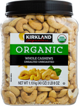 Kirkland Signature Organic Unsalted Cashews 2x 1.13kg $28.99 Delivered @ Costco (Membership Required)