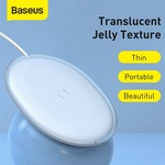 Baseus Jelly Wireless Charger Portable 15W Fast Qi Wireless Charger A$12.98 Delivered @ Eskybird