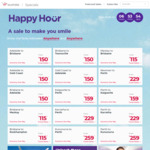 Virgin Australia Happy Hour: Bris <> Mackay $115, ADL <> Bris, Gcoast $150, Perth <> Kalgoorlie $229 and More @ Virgin Aus