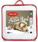 Tontine Aussie Wool Quilt (Double Only) $35.60 + $12.50 Delivery ($0 with $50 Spend) @ Tontine