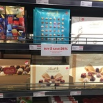 [VIC] 50% off Selected Lindt Chocolates eg Prestige Selection $8.48 @ David Jones Food (Malvern Central)