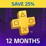 [PS4] PlayStation Plus 12 Month Subscription $59.95 (25% off) @ PlayStation (New & Inactive Customers Only)