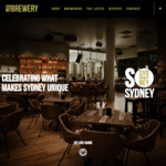 20% off and Free Delivery @ Sydney Brewery (Excl. IPA)
