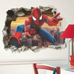 Free Captain America Marvel Decal with Every Spiderman Decal Purchase ($17.99 + Shipping) @ One Market Place
