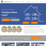FreedomLend OO P&I 1.97% Variable/Comparison LVR ≤ 70%