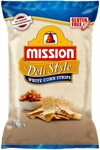 Mission Deli Style Strips, White Corn Chips, 500g - $2.75 (Min Qty 4) + Delivery ($0 with Prime/ $39 Spend) @ Amazon AU