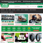 20% off Sitewide @ Peter Stevens Motorcycles