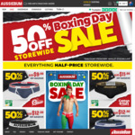 50% off Everything Storewide + Free Delivery with $40 Spend @ aussieBum