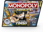 Monopoly Speed - Fast Playing Monopoly Board Game $17 (RRP $39) + Delivery ($0 with Prime/ $39 Spend) @ Amazon AU
