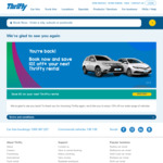 10% off Any Thrifty Car Rental