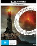 Lord of The Rings Trilogy 4K UHD (Extended & Theatrical Editions) $69.30 (C&C) @ JB Hi-Fi