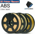 ANYCUBIC 1.75mm ABS Filament 1KG $9.99 - $31.11 Delivered @ anycubic eBay