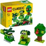 LEGO Classic Creative Green Bricks 11007 Starter Set Building Kit $5.00 + Delivery ($0 with Prime / $39 Spend) @ Amazon AU