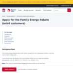 [NSW] Family Energy Rebate - up to $180 Credit on Next Energy Bill for Eligible Users @ NSW Government
