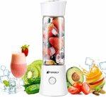 Portable Rechargeable Juice Blender 480ml / 16.8oz $39.57 Delivered @ Statco via Amazon AU
