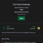 $10 Cashback with $50 Spend at Catch via Shopback