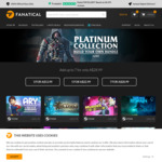 [PC, Steam, Uplay] Build Your Own Platinum Collection Bundle - June A$13.99/ $22.99/ $28.99 for 3/5/7 Games @ Fanatical
