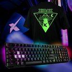 Win an ASUS ROG Scope Keyboard & Xidax T-Shirt from Xidax