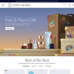 Free 8 Piece Gift with Any $75 Purchase @ Estee Lauder