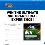 Win The Ultimate NRL Grand Final Experience for You & 3 Mates from Brydens Lawyers