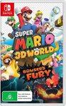 [Switch] Super Mario 3D World + Bowser's Fury, Pokemon Let's Go Eevee/Pikachu & Paper Mario $49 Each Delivered @ Amazon AU