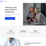 Prostate Cancer Blood Test and AI Analysis $60 (with 50% Discount Code) @ Maxwell Plus
