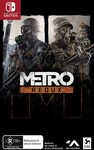 [Switch] Metro Redux $29.95 + Delivery (Free with Prime/ $39 Spend) @ Amazon AU