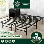 Heavy Duty Foldable Bed Base: S$113.9, D $164.9, Q $181.9, K $198.9 (eBay Plus Extra 2% off), $0 Post (Most Metro) @ Zinus eBay