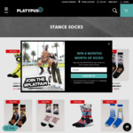 Assorted Stance Socks $4.99 (were $27.99) + Delivery (Free C&C) @ Platypus Shoes
