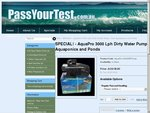 Aquapro 3000 Lph Dirty Water Pump, Suit Aquaponics, Ponds etc - M.r.r.p: $210 - SPECIAL: $139.90