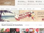 Save up to $30 on Linen House Quilts Covers at Adairs + Win a Trip to Hawaii