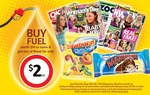 Buy $10 of Fuel at Coles Express and Get Magazines or a Maxibon for $2