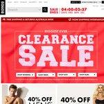 BONDS BIGGEST Ever Sale - 40% off The Whole Site