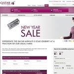 Qatar Airways 3-Day Sale - Eg. MEL-IST $1493; MEL-ROM $1534