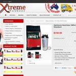 PromoCode Optimum Nutrition 100% Whey Gold Standard 5lb (2.27k) + Shaker + Free Delivery $78.96
