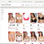 Bras from $10 and Underwear from $5 at Bras N Thing Online Exclusive Sale
