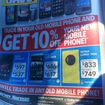 Trade in Old Mobile Get 10% off a New Mobile Phone @ HN {e.g Samsung Galaxy Note III $799.20}