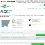 One Big Switch (NSW Click Energy) Electricity 17% Discount off Total Bill (No Contract)