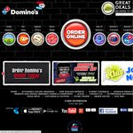 Domino's 3 Large Pizzas + Garlic Bread + 1.25l Coke from $20 Pickup Long Expiry 30/5/14
