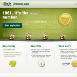 UBank Home Loan $1,961 EFTPOS Gift Card Offer